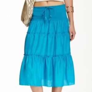 "Calypso St. Barth ""Payson"" silk skirt"